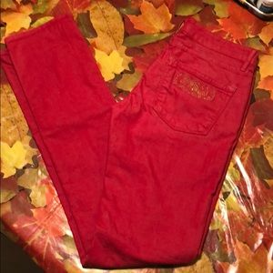 Rich And Sexy for Bebe Red Jeans